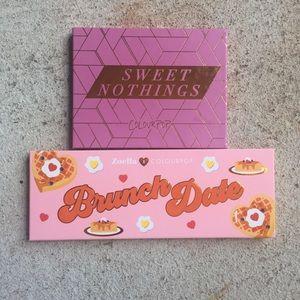 Colourpop Zoella + Sweet Nothings